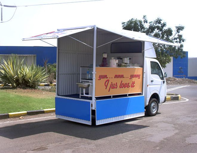 Cafeteria Van on SCV chassis